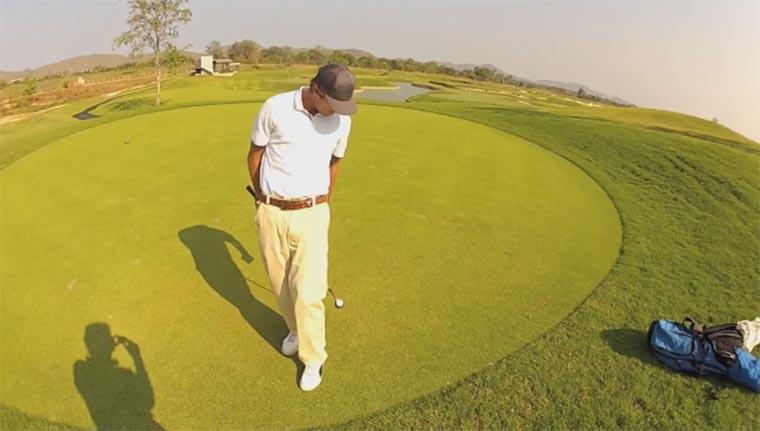 Golf-Tricks: Romain Bechu