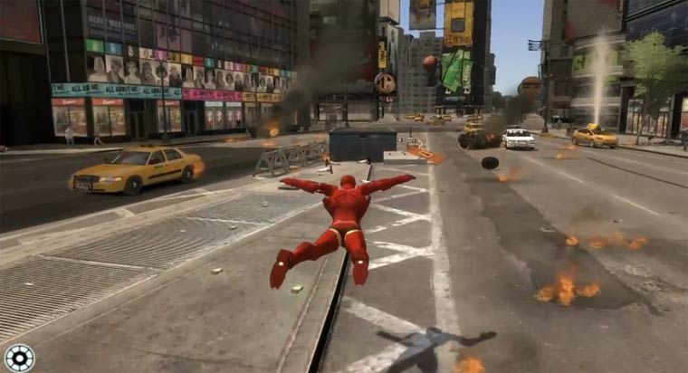 GTA IV: Iron Man-Mod