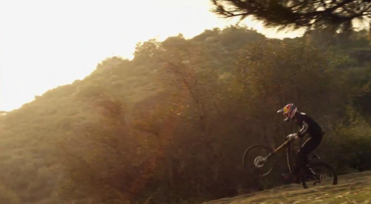 Downhill-Mountainbiking: Aaron Gwin