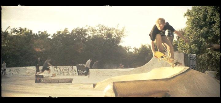 Skateboarder bauen eigenen Skatepark in Hannover