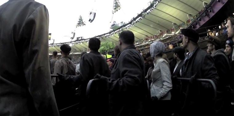 Mittendrin bei der Eröffnungsfeier von Olympia 2012
