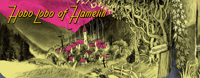 Interaktives Webcomic: Hobo Lobo of Hamelin
