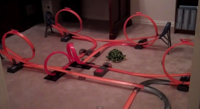 Sick Hot Wheels Track