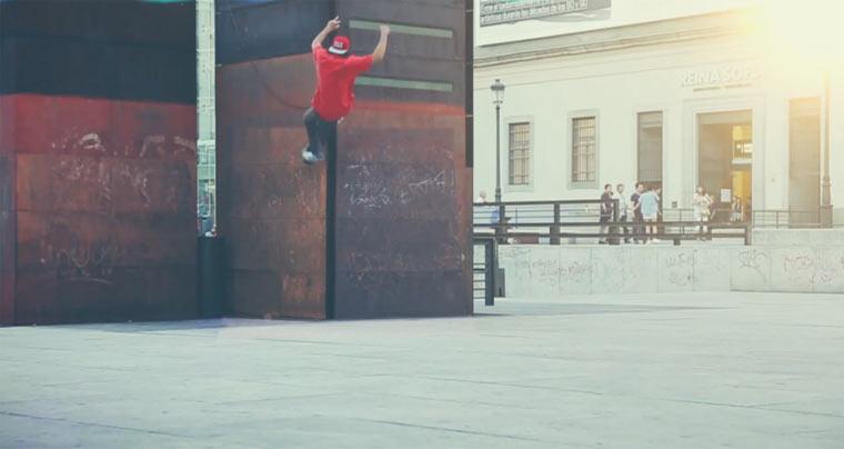 Unsichtbare Skateboardrampen