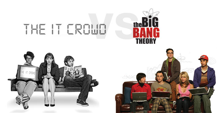 The Big Bang Theory ist besser als The IT Crowd!