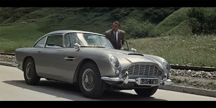 James Bond Car Montage
