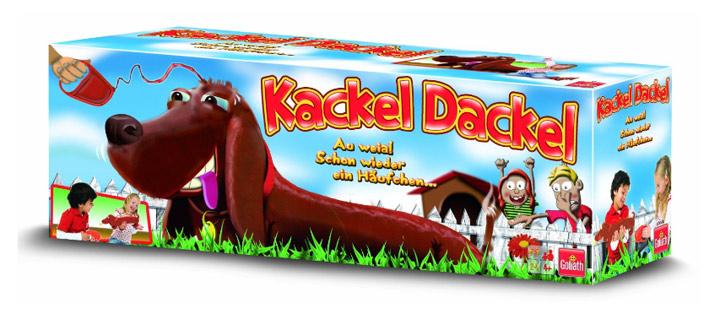 Spiel für die ganze Familie: Kackel Dackel