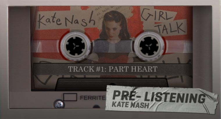Kate Nash – Girl Talk (Album Prelistening)