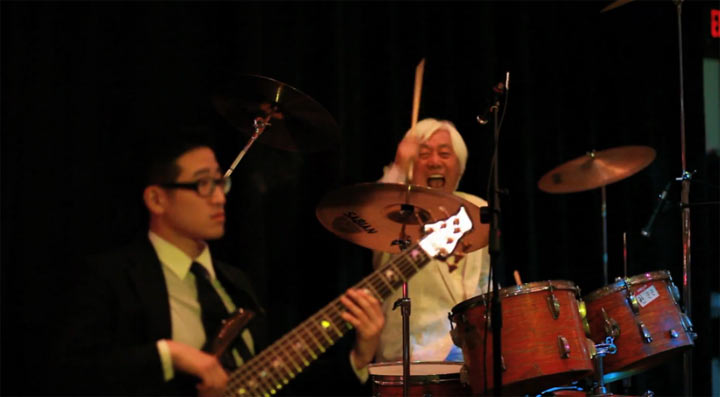 Korean Drummer Steals The Show