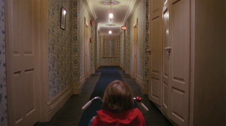 Supercut: Kubrick's One-Point Perspective-Shots