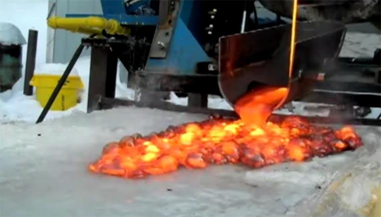 Wenn Lava auf Eis trifft lava-meets-ice