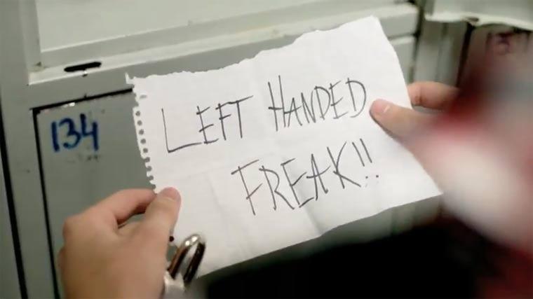 Stoppt die Linkshänder-Diskriminierung!
