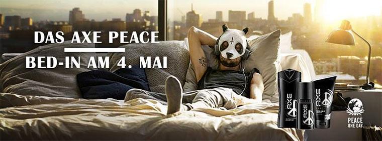 #liegenbleiben für den Frieden
