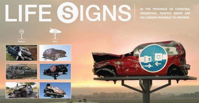 Life Signs: Autowracks als Mahnmal