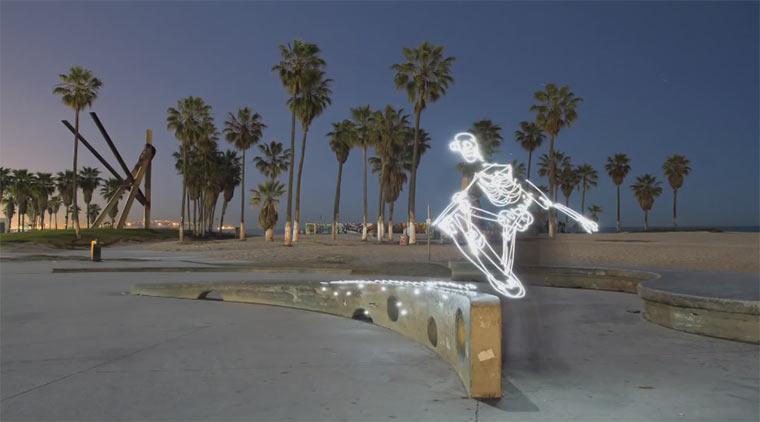 Lightpainting-Stopmotion: Light Goes On