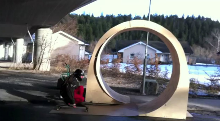 Longboard-Looping