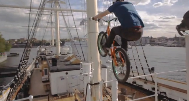 MacAskill & friends biken durch Schweden