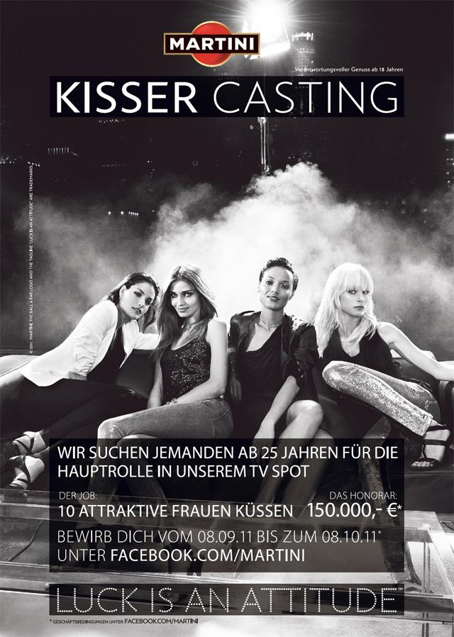 10 Topmodels und 150.000€ – Das MARTINI Kisser-Casting [+ Verlosung hier im Blog!]