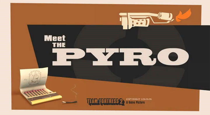 Team Fortress 2-Short: Meet the Pyro