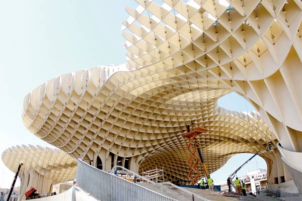 Architektur: Das Metropol Parasol