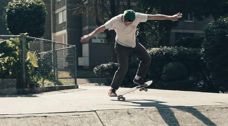 Skateboarden in Mexico City