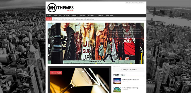 WordPress Themes von Michael Hebenstreit