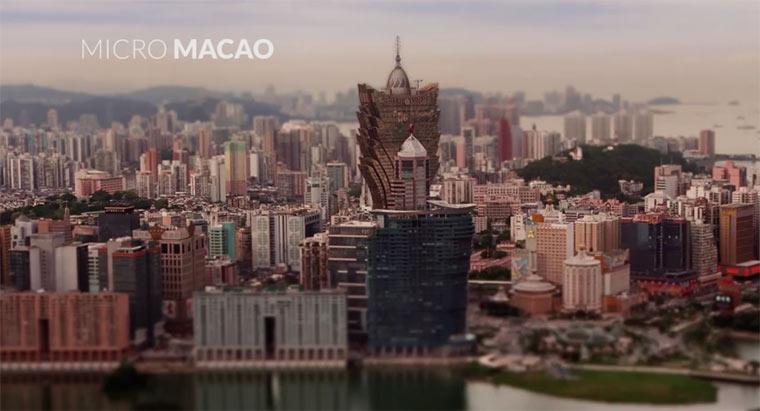 Tilt-Shift: Micro Macau