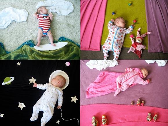 inszenierte Babyträume