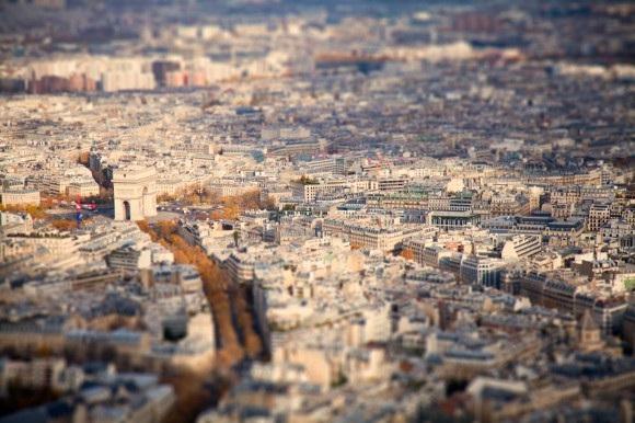 Tilt-Shift-Fotografie: Mini Cities