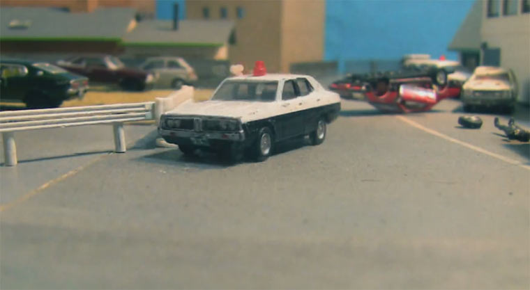 Miniature Car Chase
