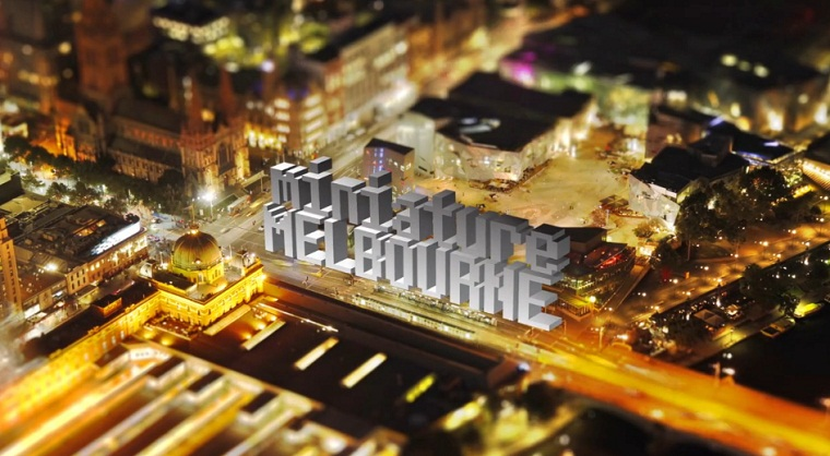 Tilt-Shift: Miniature Melbourne