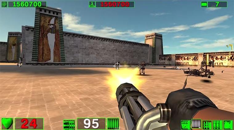 Eine Hommage an die Minigun minigun