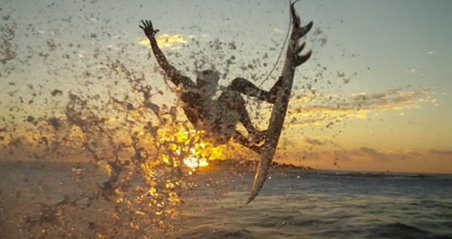 Stylish: Surfen mit Matrix-Effekt