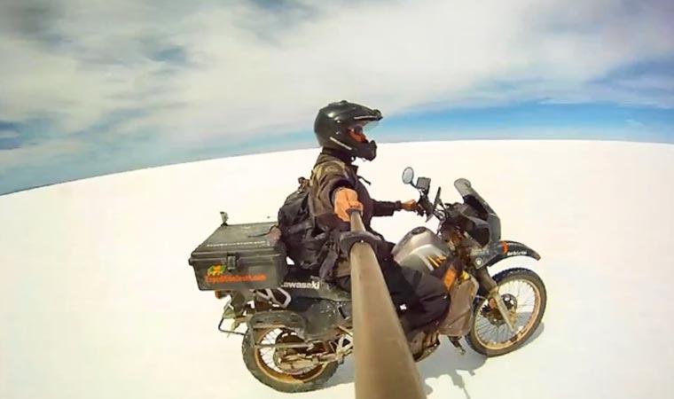 Auf dem Motorrad von Alaska nach Argentinien und zurück