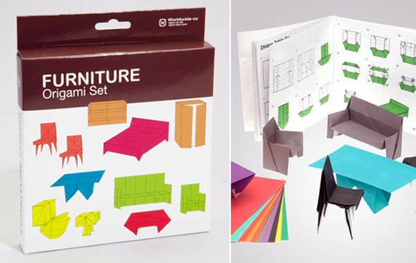 Möbel-Origami