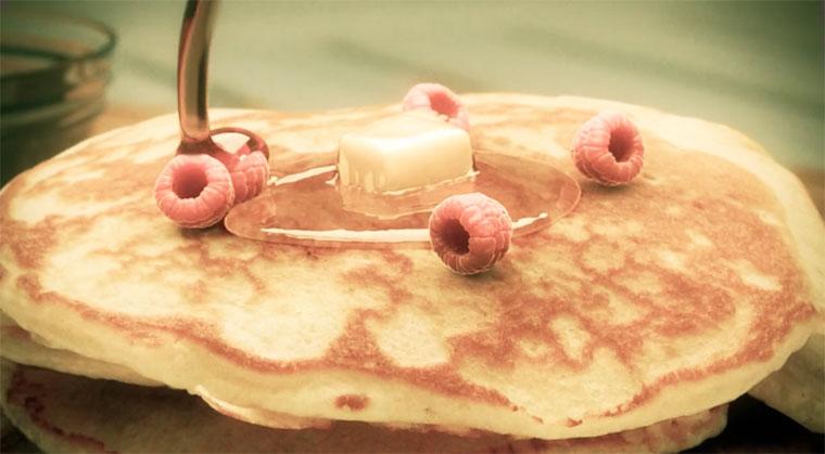 Lecker Animation: Pancakes