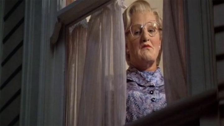 Mrs. Doubtfire Recut als Thriller