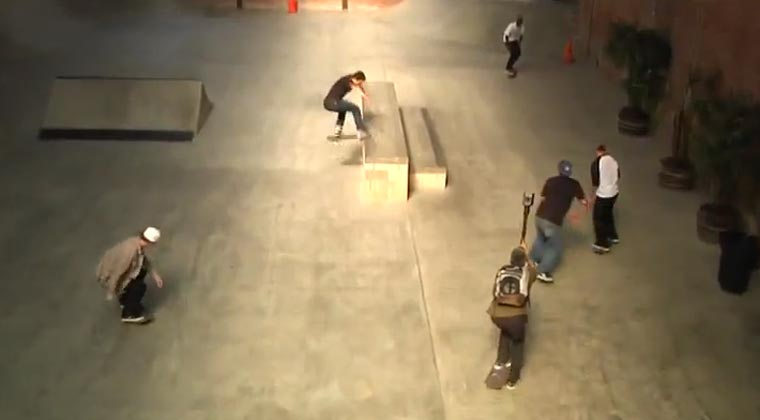 interaktive 360° Skateboarding-Video
