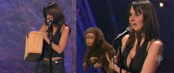 Meta-Affen-Bauchsprecherin: Nina Conti