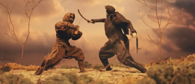 Stopmotion-Fight: Ninja