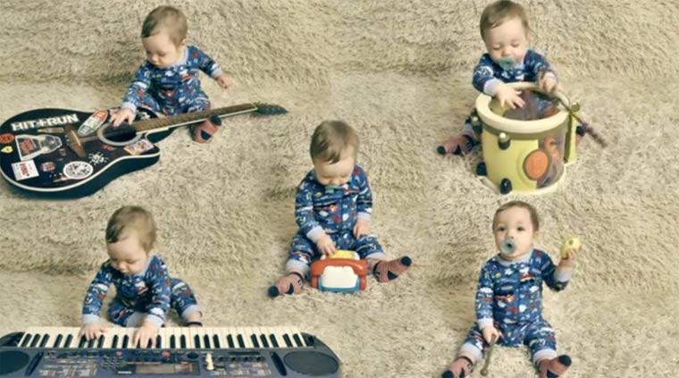 Ein-Baby-Band