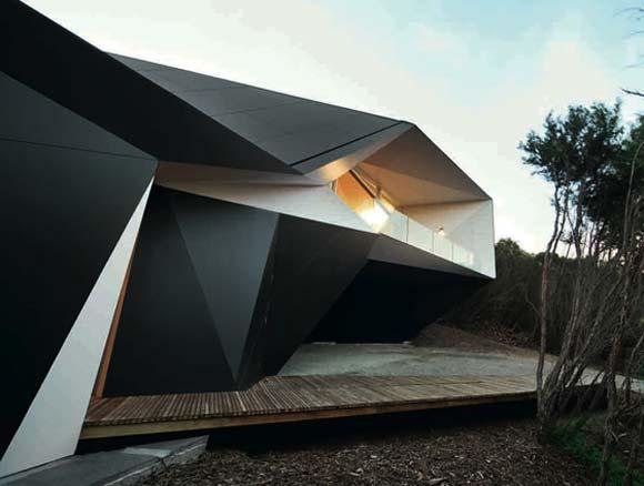 Das stylische Origami-Haus