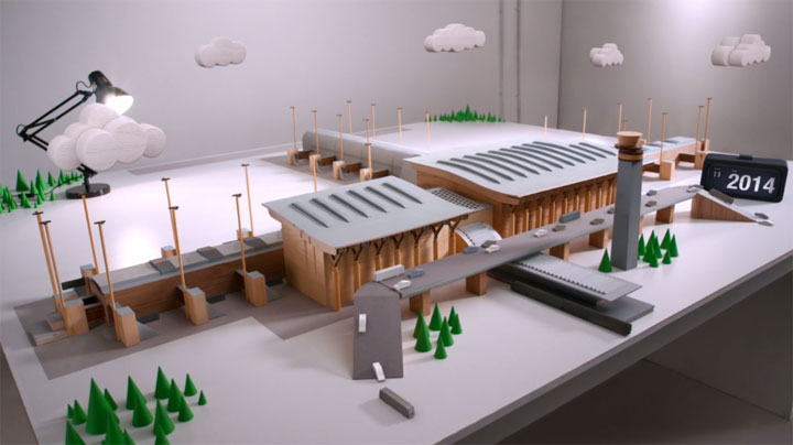 Oslo Airport Miniature Stopmotion