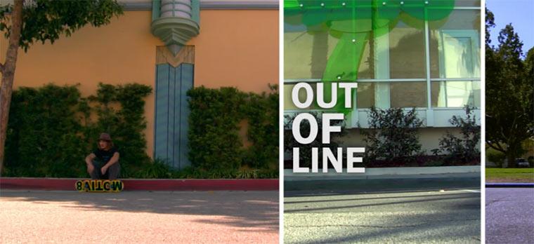 Gegen den Strich skateboarden: Out of Line