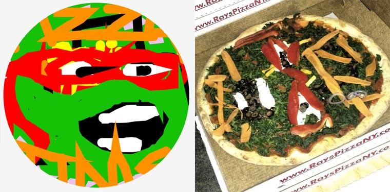 Cool: mal dir deine Pizza!