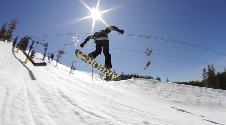 Snowboarding: Parallel Parking