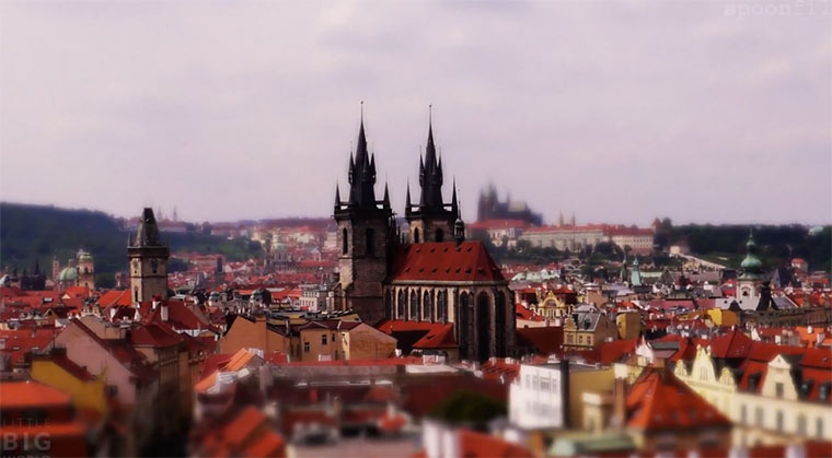 Tilt-Shift: Petit Prague