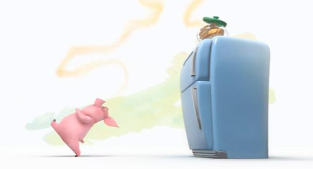 Das Schwein und die Kekse