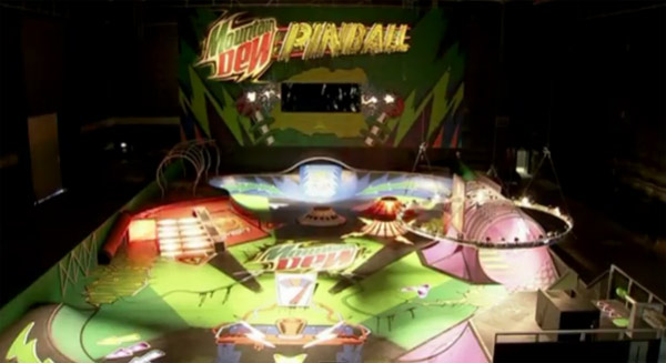 Pinball-Skatepark