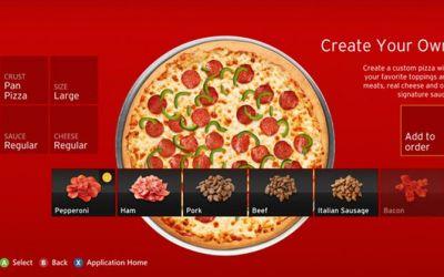 pizzakinect